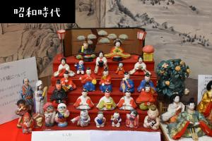 昭和のひな人形