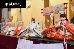 平成のひな人形